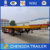 20ft und 40ft Shipping Container Trailer mit Optional Water Tank