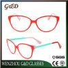 Het In het groot Frame van uitstekende kwaliteit Cc1704 van de Glazen van het Oogglas van Eyewear van de Acetaat Optische