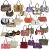 ハンドバッグ、女性のハンドバッグ、女性の出口、置かれる女性