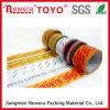 cinta auta-adhesivo superior de 48mmx40mic BOPP con insignia