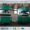 Quijada-Tipo prensa de vulcanización hidráulica, prensa de vulcanización de la pista de goma