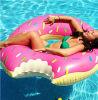 팽창식 도넛 반지를 수영하는 빵 수영 관 초콜렛 PVC를 광고하는 공장