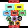 Schürhaken-Chips des Lehm-760PCS eingestellt/Kronen-Lehm-Kasino-Chips eingestellt für spielendes Spiel mit Aluminiumfall Ym-Sghg001
