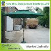 Wasserdichter bequemer einfacher hoher bekanntmachender Markt-Regenschirm