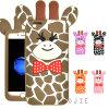 Nueva caja del teléfono del silicón de los ciervos de la historieta para la cubierta del teléfono móvil de Huawei P8lite P9 Y6II Y5II (XS-G120)