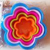 Резец Biscut резца печенья формы цветка Emoer пластичный