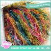 Spun Gold Fancy Feather Fio de poliéster de nylon de lã (FY-073)
