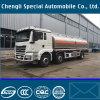 caminhão do depósito de gasolina da liga de alumínio de 8X4 Rhd Shanqi