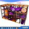 Скольжение пробки спортивной площадки игрушек детей Vasia крытое пластичное