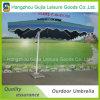 Paraguas rectos de los acontecimientos promocionales desmontables del jardín