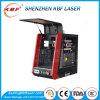 金属板または管のファイバーカラーおよび黒のマーキングのための携帯用20Wレーザーのマーキング機械