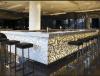 Barras de bar de design moderno mais vendidas Restaurante Balcão de barra comercial