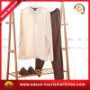 Maglietta rotonda lavorata a maglia di bianco del collo del breve manicotto dei vestiti di modo delle donne