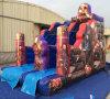 Der Großhandelsstandardgrößen-Spaß, der aufblasbar ist, trocknen das aufblasbare Plättchen