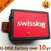 Disco de destello personalizado del USB del envase de Swisslog (YT-SC)