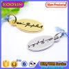 卸売によってカスタマイズされるロゴの宝石類の札の金属のロゴの魅力