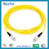 Fc-FC de Optische Kabel van de Vezel