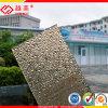 Polycarbonaat In reliëf gemaakt Blad die het Materiële Comité van de Muur afbaarden