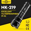 3 lanterna elétrica recarregável Runtime do diodo emissor de luz da bateria 7h do diodo emissor de luz 26650 do CREE XP-E (NK-219)