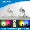 De Afstandsbediening RGBW Double Tracks Spotlight van LED Multi Use Bulb 2.4G WiFi