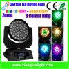 luz ligera principal móvil de la viga de la colada de 36X10W LED