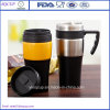 Personifiziertes Insulated Double Wall Plastic Thermal Coffee Mugs oder Travel Mugs Tumbler mit Handle
