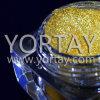 Pigmento de papel iridiscente de la perla del oro de la tarjeta de felicitación
