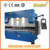 Dobladora plateada de metal de aluminio hidráulica del CNC We67k400/4000