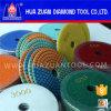 3-Color maravilhoso Wet Polishing Pad para Granite