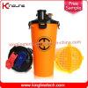 oem plástico 700ml doble botella de la coctelera separados sin bpa ( KL- 7015 )