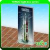 Im Freienbekanntmachenheller Kasten-Bildschirmanzeige Lightbox Straßen-MöbelSignage