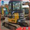 mini excavador usado hidráulico Japón-Exportado Global-Favorecido 0.1~0.5cbm/5000kg de la correa eslabonada de KOMATSU PC55mr