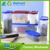 Contenitore di memoria di plastica dell'alimento del cereale della cucina con la stampa di marchio