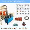 Bloco de cimento que faz a maquinaria de construção da máquina