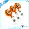 Bobine escamotable d'insigne de yo-yo ovale avec l'impression faite sur commande