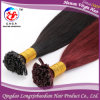 Lxbd 2015 Hot Selling Unprocessed Glue italiano Keratin Fusion Hair Extensions Cuticle Remy Keratin brasiliano Hair (i 11271)