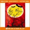 Bandierina/bandiera decorative del giardino di Halloween di festival su ordinazione di stampa
