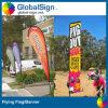 Qualitäts-Schaufel-Markierungsfahnen Shanghai-Globalsign für Ereignisse
