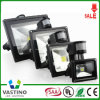 10-50W PIR Sensor LED Flood Light