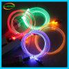蛍光性の円形ワイヤー光学携帯電話USBケーブル