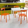 Таблица и стул быстро-приготовленное питания мебели столовой твердые поверхностные