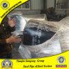 ASME B16.11 ASTM A105 30度の炭素鋼の肘