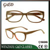 Het recentste In het groot Frame Sr6065 van de Glazen van het Oogglas van Eyewear van de Acetaat van de Voorraad Optische