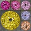 I monili dei braccialetti di Shamballa intorno all'argilla di 10mm pavimentano i branelli (BD0006)