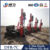 PVの杭打ち基礎の掘削装置、杭打ち機