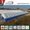 Barraca resistente ao calor do armazém da tela inflável do PVC do dobro do telhado