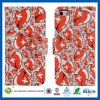 Heart-Shaped Water к iPhone 5s аргументы за Stick Leather Flip