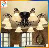 Lámpara del techo del metal de la decoración del hogar de la lámpara de ocho luces
