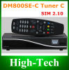 WiFiのDreambox Dm800HD Se-C Calbe Black DVB-C Cable Tuner Dm800se-C Cable Version HD Satellite Receiver