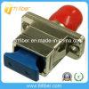 FC aan Adapter van Opitc van de Vezel van Sc de Hybride, Singlemode Simplex
